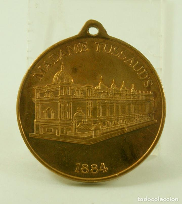 Medallas temáticas: MEDALLA FRANCESA MADAME TUSSAUD - Foto 2 - 80874355