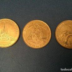 Medallas temáticas: LOTE 3 MONEDAS DE LOURDES. Lote 80886383