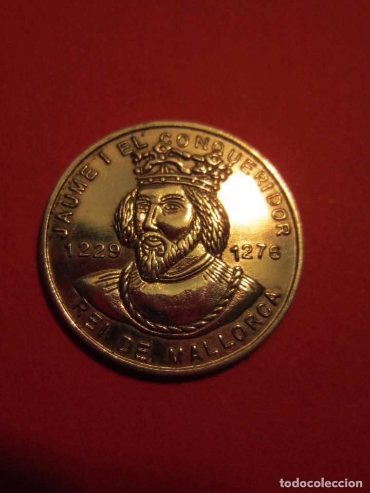 Medallas temáticas: Jaime I . Medalla de plata. Mallorca. - Foto 2 - 81030620