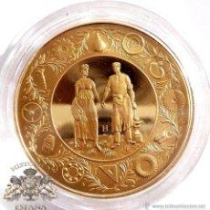 Medallas temáticas: MEDALLA CENTENARY FESTIVAL CITY BIRMINGHAM - 1889 - 1989 - POSIBLEMENTE DE PLATA DORADA -ENCAPSULADA. Lote 81087540