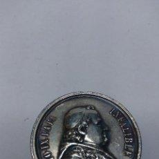 Medallas temáticas: BONITA MEDALLA 1º ROMERIA ESPAÑOLA AL VATICANO 16 OCTUBRE 1876. Lote 82688616