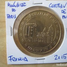 Medallas temáticas: MEDALLA FRANCIA CHATEAU PAU 2015 . Lote 85421016
