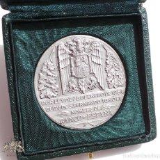 Medallas temáticas: MEDALLA DE PLATA DE LEY BANCO DE ESPAÑA 75 GRAMOS. Lote 86704496