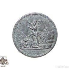 Medallas temáticas: PRUEBA EN PLOMO DE MEDALLA - VIRTUS DOLI VICTRIX - 4 CM DE DIÁMETRO. Lote 87027100