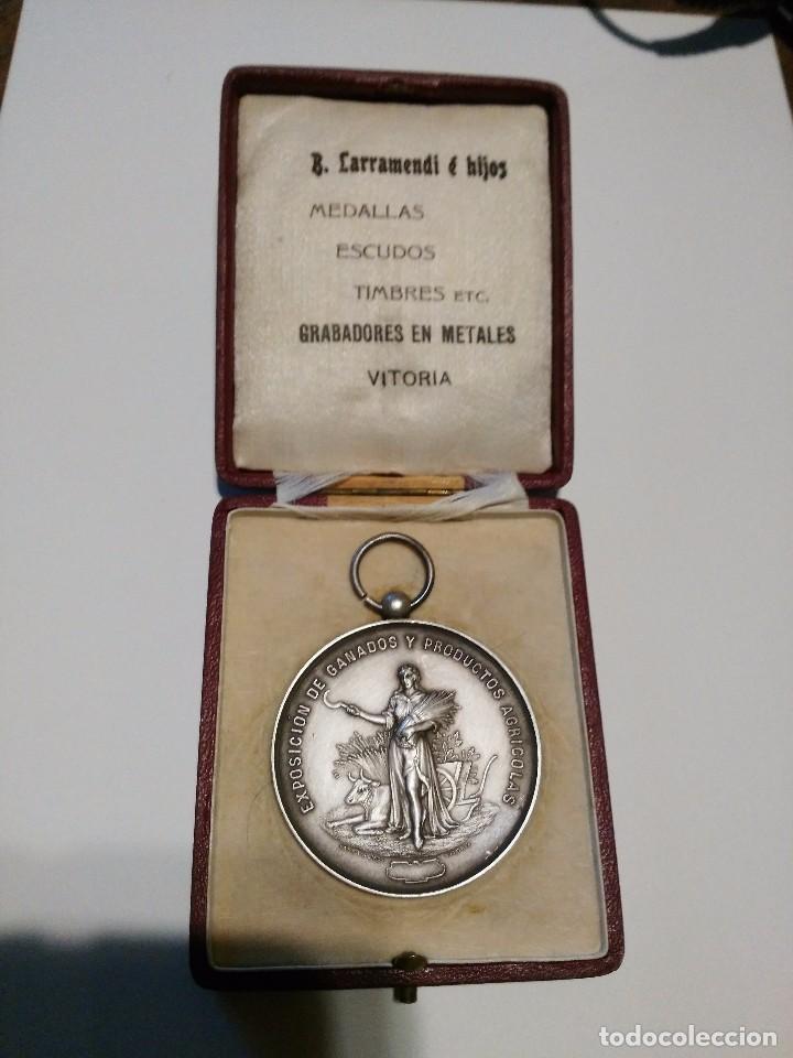 Medallas temáticas: medalla grabada por B. larramendi e hijos - Foto 3 - 87071368