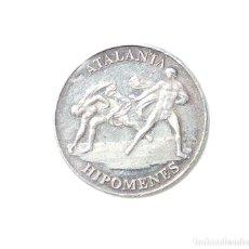 Medallas temáticas: MEDALLA DE PLATA GUIDO RENI 1575 - 1642 -ATALANTA HIPOMENES. Lote 87153472