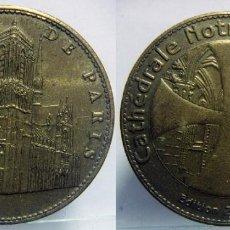Medallas temáticas: NOTRE DAME DE PARÍS (FRANCIA). MONEDA EDICIÓN 2007. Lote 87659884