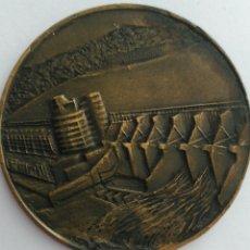 Medallas temáticas: MEDALLA DE LA CORPORACIÓN ELÉCTRICA DE LA REPRESA DE CARUACHI DE VENEZUELA. Lote 88775419