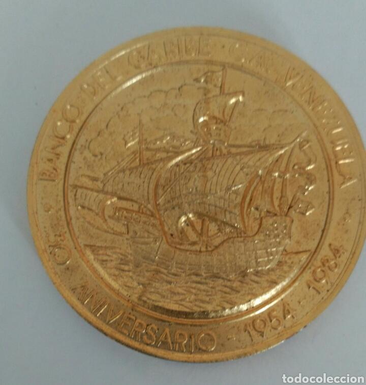 Medallas temáticas: MEDALLA DEL ANTIGUO BANCO DEL CARIBE DE VENEZUELA. 30 ANIVERSARIO 1984 - Foto 4 - 88891770