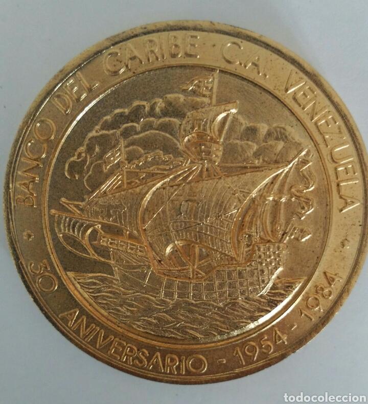Medallas temáticas: MEDALLA DEL ANTIGUO BANCO DEL CARIBE DE VENEZUELA. 30 ANIVERSARIO 1984 - Foto 5 - 88891770