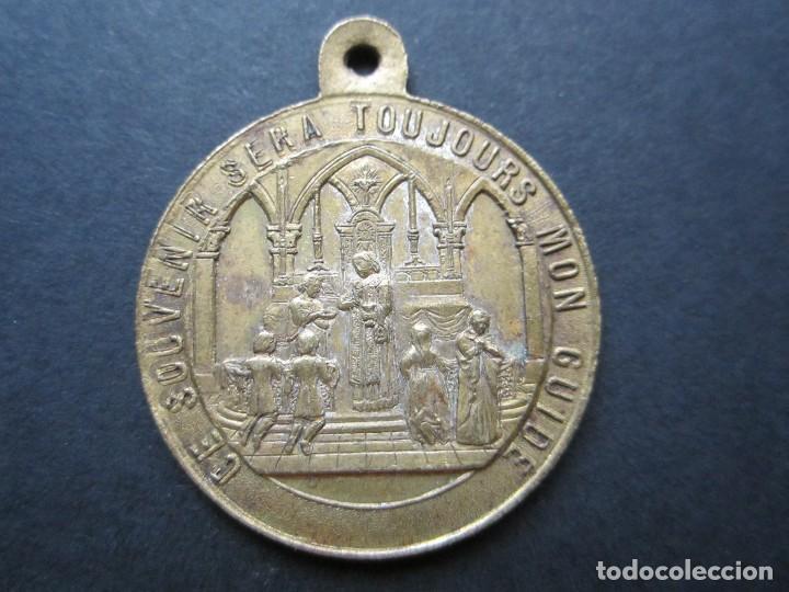 MEDALLA FRANCESA DE 1ª COMUNION (Numismática - Medallería - Temática)