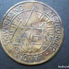 Medallas temáticas: MEDALLA DE AUSTRIA EN LATÓN. Lote 90372528