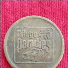 Medalhas temáticas: MONEDA COMERCIAL FICHA TOKEN PARADIES. Lote 234451560