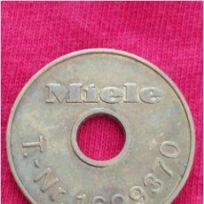 Medallas temáticas: MONEDA COMERCIAL PUBLICITARIA FICHA TOKEN MIELE. Lote 91228834