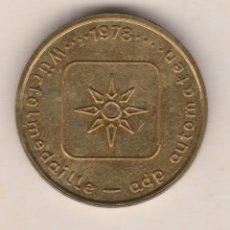 Medallas temáticas: TOKEN ALEMANIA-1978. Lote 91648990