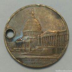 Medallas temáticas: MEDALLA DE ESTADOS UNIDOS DEL CAPITOLIO WASHINGTON DC. THE NATIONAL CAPITOL U.S.A.. Lote 91806073