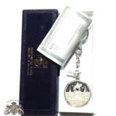 Medallas temáticas: LLAVERO MEDALLA DE PLATA PLAZA MAYOR DE MADRID REALIZADA EN PLATA FINA DE 999 CON CERTIFICADO. Lote 92719375
