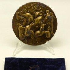 Medallas temáticas - Medalla bronce FNMT firmada J Toledo 1983 con funda - 92816285