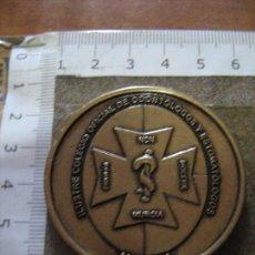 Medallas temáticas: MEDALLA CONMEMORATIVA DEL 2º CONGRESO INTERNACIONAL 7º NACIONAL - MURCIA 2011 - ODONTOLOGIA. Lote 94045525
