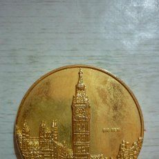 Medallas temáticas: REINO UNIDO MIEMBRO DE LA C.E.E. DESDE 1973. Lote 94495842