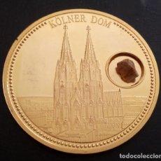 Medallas temáticas: GRAN MONEDA CONMEMORATIVA CON LA CATEDRAL DE COLONIA A 60 AÑOS DE REPUBLICA FEDERAL ALEMANA EN 2009 . Lote 95397735