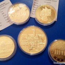 Medallas temáticas: BONITO LOTE DE 5 MONEDAS CONMEMORATIVAS DE ALEMANIA IDEAL PARA INICIAR O AMPLIAR UNA COLECCION. Lote 95520159