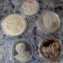 Medallas temáticas: LOTE DE 5 MONEDAS PLATA DE CANCILLERES DE ALEMANIA IDEAL PARA INICIAR O AMPLIAR COLECCION. Lote 95525027