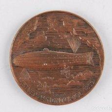 Medallas temáticas: MEDALLA EN BRONCE. SUBMARINO MONTURIOL 1859, XXII SALON NAUTICO INTERNACIONAL. BARCELONA 1984.. Lote 96482379
