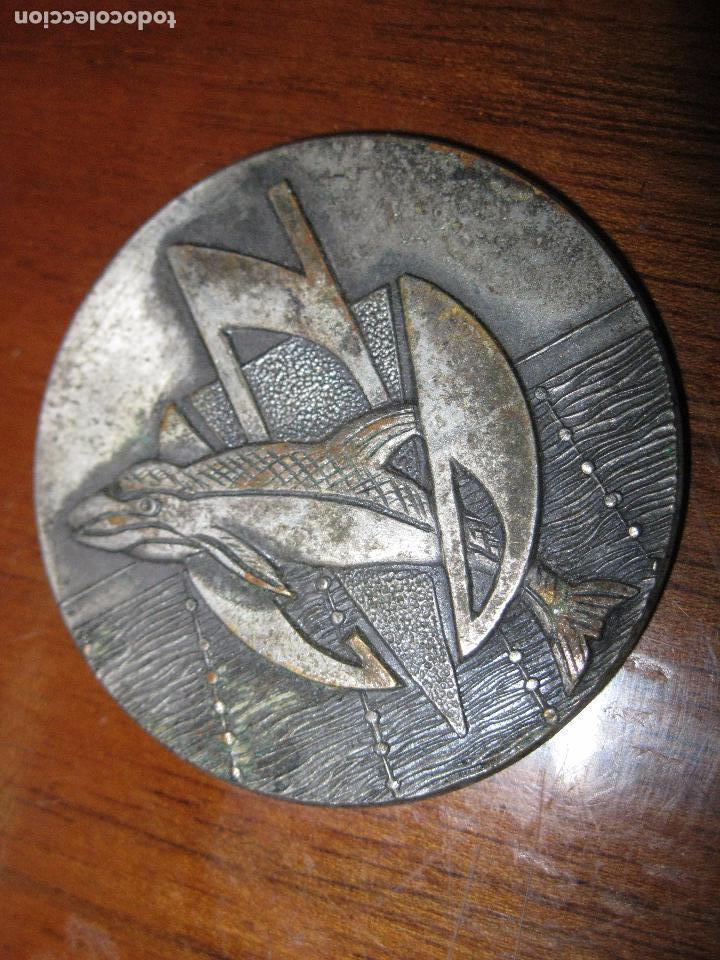 CLUB NAUTICO DELFIN PRECIOSA MEDALLA ANTIGUA 1971 4,5 ALICANTE (Numismática - Medallería - Temática)