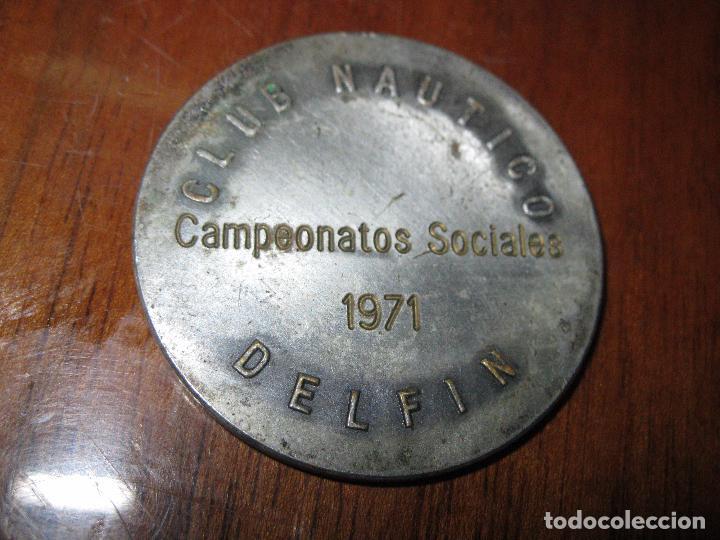 Medallas temáticas: CLUB NAUTICO DELFIN PRECIOSA MEDALLA ANTIGUA 1971 4,5 alicante - Foto 4 - 48148522