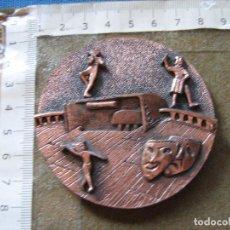 Medallas temáticas: MEDALLA CONMEMORATIVA DE LA VII SEMANA NACIONAL DE TEATRO DE SORDOS - BARCELONA OCTUBRE 1984. Lote 97148095