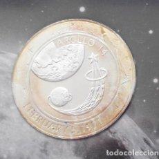 Medallas temáticas: INTERESANTE MONEDA PLATA APOLLO 14 CONMEMORATIVA AL 40 ANIVERSARIO DEL APOLLO EDICION LIMITADA. Lote 96578907