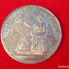 Medallas temáticas: MEDALLA VILLES DE SUISSE, ST. VALLEN, DE PLATA 3,8 CM. DIÁMETRO, BUEN EJEMPLAR VER FOTOS. Lote 98357091