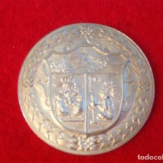Medallas temáticas: MEDALLA DE PLATA 50 ANIV. DEL BANCO DE MÉXICO 3,9 CM. DIÁMETRO, PROFF, RELIEVE EN MATE, VER FOTOS. Lote 98357671