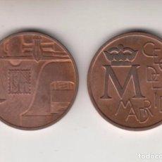Medallas temáticas: ,,,MEDALLA CONMEMORATIVA EN COBRE FNMT 1994 CECA DE MADRID, LOTE INTERESANTE 25 UNIDADES.. Lote 98893735