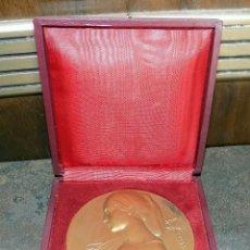 Medallas temáticas: MEDALLA, CREDIT FRANCAIS, CON ESTUCHE,192 GRAMOS, 7,5 CM. Lote 99083123