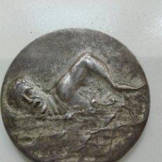 Medallas temáticas: MEDALLA NATACIÓN SUIZA 1952 PLATA TIBETANA. Lote 99497127