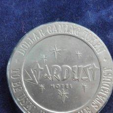 Medallas temáticas: DOLLAR GAMING TOKEN HOTELES LAS VEGAS NEVADA 1966. Lote 99525000