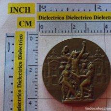 Medallas temáticas: MEDALLA MONEDA. 50 ANIVERSARIO ESCUELA POLITÉCNICA DE PARIS 1933 1983. BRONCE. 50 GR. Lote 99909267
