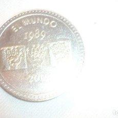 Medallas temáticas: EL MUNDO 1989-2004 MEDALLA CONMEMORATIVA. Lote 100325791