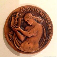 Medallas temáticas: MEDALLA ESPAÑOLA HOMENAJE A LA MUJER DEL MÉDICO 1959. Lote 100899611