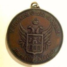 Medallas temáticas: MEDALLA V CENTENARIO CONCILIO DE ARANDA DE DUERO PARROQUIA DE SAN JUAN. Lote 100905403