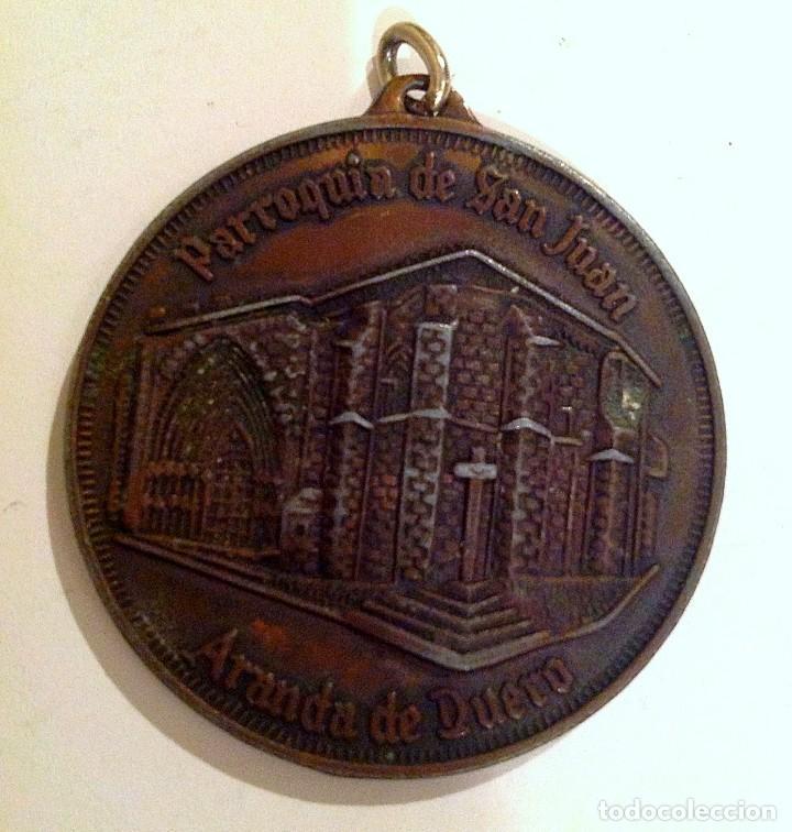 Medallas temáticas: Medalla V Centenario Concilio De Aranda De Duero Parroquia De San Juan - Foto 2 - 100905403