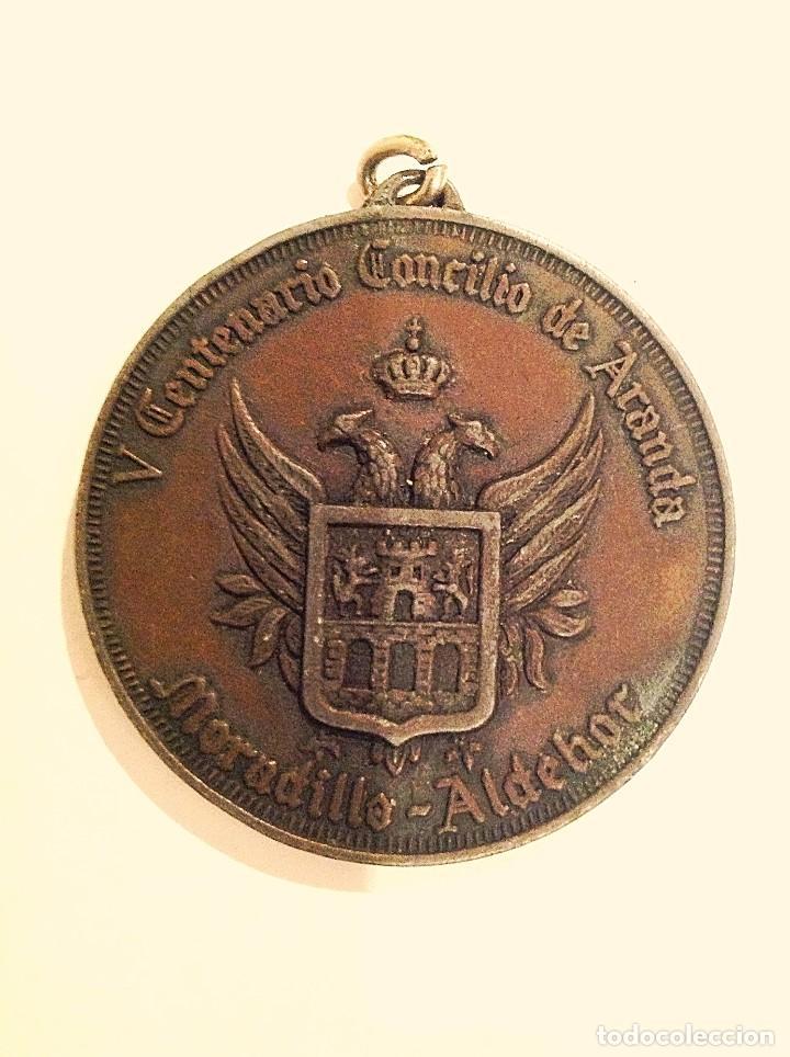 Medallas temáticas: Medalla V Centenario Concilio De Aranda De Duero Parroquia De San Juan - Foto 3 - 100905403