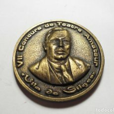 Medallas temáticas: MAGNIFICA MEDALLA VII CONCURS DE TEATRE AMATEUR VILA DE SITGES. Lote 100982435