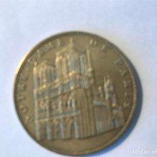 Medallas temáticas: MEDALLA CATEDRAL DE NOTRE DAN PARÍS. NOTRE DAME PARÍAS. . Lote 101201491
