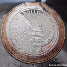 Medallas temáticas: INTERESANTE MONEDA PLATA APOLLO 12 CONMEMORATIVA AL 40 ANIVERSARIO DEL APOLLO EDICION LIMITADA. Lote 101851479