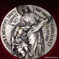 Medallas temáticas: MEDALLA DEL VATICANO DEL CENTENARIO DE LA ORDEN HOSPITALARIA DE SAN JUAN DE DIOS. Lote 102240427