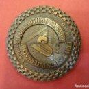 Medallas temáticas: MEDALLA EN BRONCE CONMEMORATIVA SALON INT. DEL AUTOMOVIL 1977. . Lote 102362807