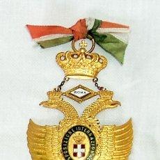 Medallas temáticas: MEDALLA ANTIGUA ROMA ESPOSIZIONE INTERNAZIONALE 1912 GRAN PREMIO AGUILA BICEFALA ITALIA EXPOSICION. Lote 102394743